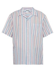 Hope Camp Striped Cotton Shirt Multi