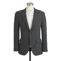 J.Crew Ludlow Suit Jacket In Herringbone Harris Tweed Wool
