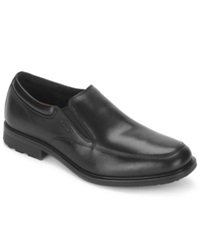 Rockport Essential Details Waterproof Slip On Shoes Men's Shoes Black
