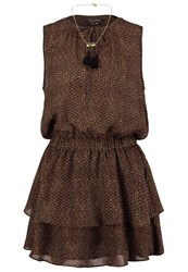 Scotch And Soda Summer Dress Brown