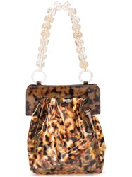 Maryam Nassir Zadeh Glow Tote Brown
