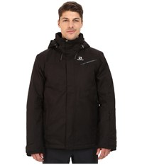 Salomon Fantasy Jacket Black 1 Men's Coat