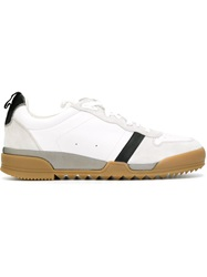 Rag And Bone Rag And Bone Panelled Lace Up Sneakers White