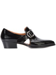 Derek Lam Cut Out Detail Loafers Women Calf Leather Leather 40.5 Black