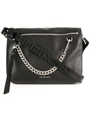 Alexander Mcqueen Skull Shoulder Bag Black