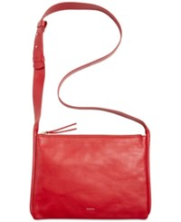 Skagen Denmark Anesa Crossbody Red