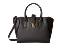 Lauren Ralph Lauren Carrington Bethany Shopper Black Handbags