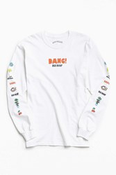 Urban Outfitters Mac Miller Long Sleeve Tee White