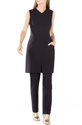Bcbgmaxazria 'Phoeby' Asymmetrical Seaming Tunic Black