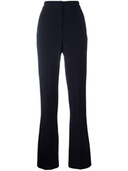 Joseph Flared Trousers Black