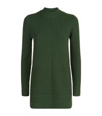 Michael Michael Kors Ribbed Wool Cashmere Sweater Female Green