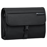 Briggs And Riley Deluxe Wash Bag Black