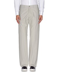 Maestrami Trousers Casual Trousers Men Light Grey
