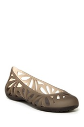 Crocs Adrina Iii Flat Women Brown