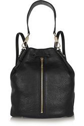 Elizabeth And James Sling Textured Leather Backpack
