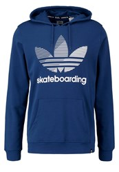 Adidas Originals Clima Hoodie Mysblu White Dark Blue