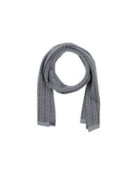 Roberto Pepe Oblong Scarves Grey