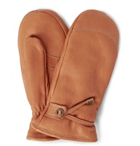 Hestra Leather Mittens Brown