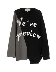 5Preview Sweatshirts Black