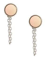 Marc By Marc Jacobs Earrings Light Pink
