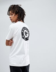 Brixton Prowler T Shirt With Back Print White