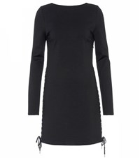 Mcq By Alexander Mcqueen Lace Up Dress Black