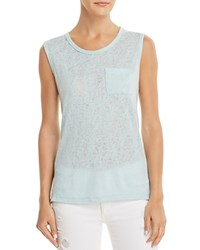 Michelle By Comune Melrose Slub Muscle Tee Seasalt