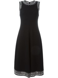 Alexander Wang Eyelet Embellished Midi Dress Black