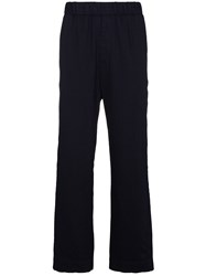 Lot 78 Lot78 Indigo Blue Slouch Pants Cotton