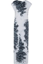 Enza Costa Printed Stretch Jersey Maxi Dress Multi