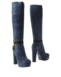 Galliano Boots Blue