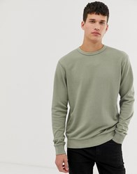 Only And Sons Crew Neck Jumper Grey