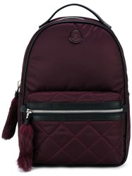 Moncler Small 'Georgette' Backpack Red