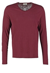 American Vintage Long Sleeved Top Lie De Vin Bordeaux