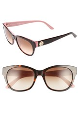 Juicy Couture Women's Shades Of By 53Mm Gradient Sunglasses Havana Pink