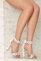 Jeffrey Campbell Obus Leather Heel White