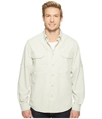 Royal Robbins Expedition Chill Long Sleeve Soapstone Men's Long Sleeve Button Up Beige