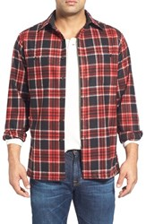 Men's Pendleton 'Game Day' Plaid Wool Flannel Shirt
