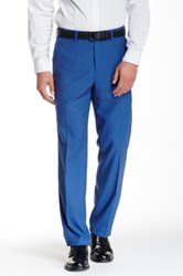 Tailorbyrd Flat Front Pant 30 34' Inseam Blue