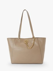 Dkny Linton Large Leather Tote Bag Dune