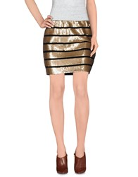 Deby Debo Skirts Mini Skirts Women Beige
