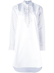 Rosetta Getty Western Tunic Shirt White