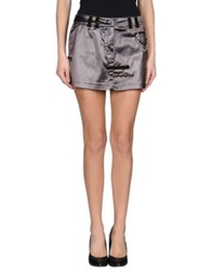 Le Complici Mini Skirts Military Green