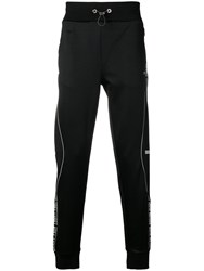 Philipp Plein Logo Track Pants Black