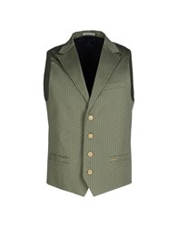 Scotch And Soda Suits And Jackets Waistcoats Men Military Green