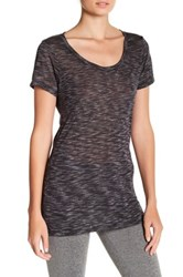 Threads For Thought Sasha Scoop Neck Tee Black