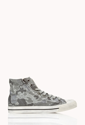 Forever 21 Camo High Top Sneakers