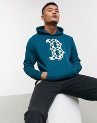 New Era Mlb Boston Red Sox Infill Hoodie In Blue