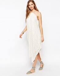 Free People Olympia Lace Overlay Dress Ivory
