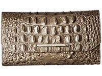 Brahmin Soft Checkbook Pewter Wallet Handbags